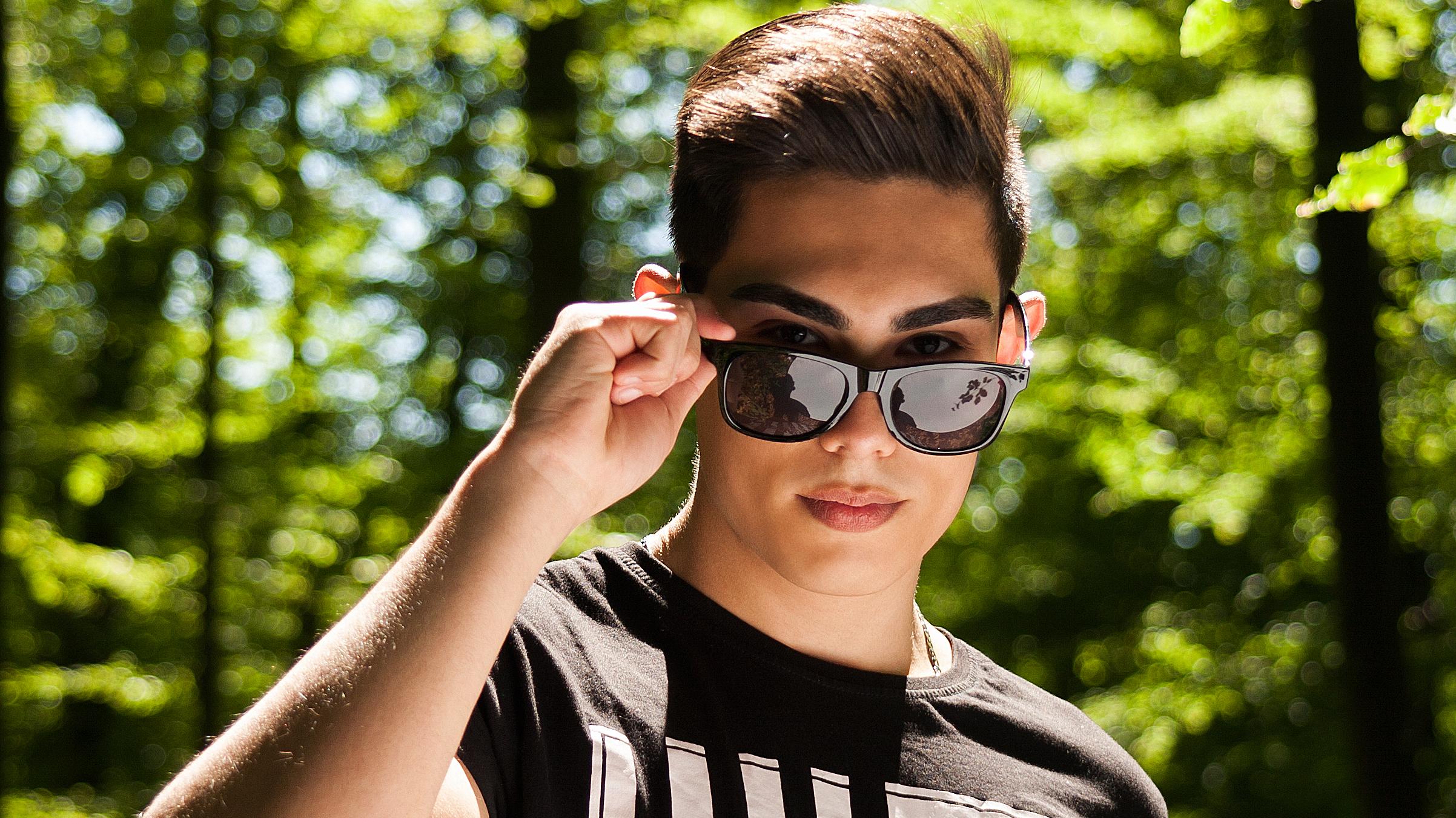 vermarktung sonnenbrille
